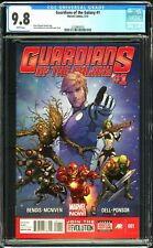 Guardians of the Galaxy # 1 CGC 9.8 Marvel NOW! Iron Man Joins 2013