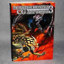 Monster Hunter Capcom CG artworks jeu de 3 livre d'art nouveau
