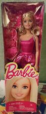 NRFB Poupée doll Barbie Paillette glitter rose glitz pop glamour BCN35 NEUF
