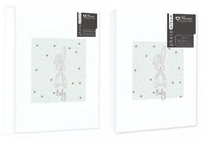 PHOTO ALBUM 4X6 80 PHOTOS OR 12 SHEET SELF ADHESIVE BABY DESIGN