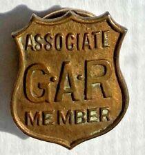Grand Army of the Republic Associates Lapel Pin