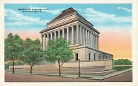 Postcard Temple of Scottish Rite Washington DC