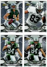 New York Jets 4-Card RC Lot Petty Hill Smith RC Black Refractor Non-Auto