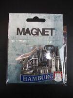 Hamburg Port Elbphilharmonie Michel 3D Métal Frigo Aimant Souvenir Allemagne
