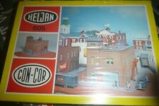 N SCALE HELJAN/CON-COR FIRE HOUSE STATION CONSTRUCTION KIT SEALED