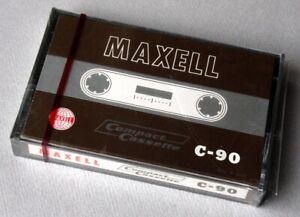 Maxell C-90 of 1967. Neu OVP.