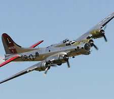 Giant 1/8 Scale  American WW-II B-17G Flying Fortress Bomber Plans,Templates