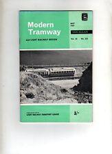 MODERN TRAMWAY & LIGHT RAILWAY REVIEW - UK VINTAGE MAGAZINE - MAY 1967