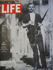 LIFE Feb 21 1964 LH Oswald, J Ruby, J Crawford Beatles first US visit, B Fischer