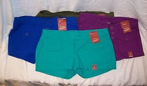 ARIZONA CASUAL SHORTS WOMEN'S MULTIPLE COLORS/SIZES MSRP$14 NEW WITH TAGS B12