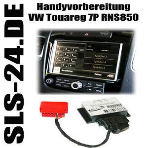VW Touareg 7P RNS 850 Bluetooth Aktivierung Freisprecheinrichtung Kufatec 37788