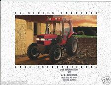 Farm Tractor Brochure - Case - 395 495 595 695 895 995 - 95 series (F1087)