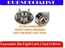 FRONT WHEEL HUB & BEARING 2005 KIA SPORTAGE 1 SIDE FAST SHIPPING 2-3 DAY RECEIVE