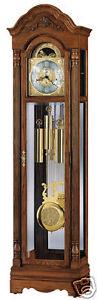 Howard Miller 610-985 Gavin - Oak Grandfather Chiming Floor Clock