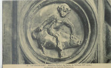 CPA-43-LA CHAISE-DIEU médaillon sculpté des stalles