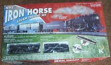 New K-Line  K-1117 NYC Iron Horse steam freight set