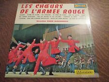 33 tours LES CHOEURS DE L'ARMEE ROUGE volume 2 diriges par BORIS ALEXANDROV