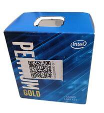 Intel Pentium Gold G5420 3.8 GHz Socket LGA 1151 2 cores.