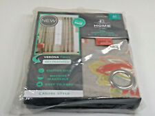 "JCPenney Home Verona Twill Felicity Grommet Panel 50"" x 63"" Canton Green Multi"
