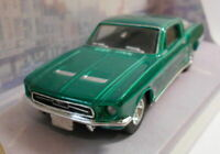 Dinky 1/43 Scale Diecast Model DY-16 1967 FORD MUSTANG FAST BACK GREEN