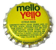Mello Yello Citrus Soda Kronkorken USA Bottle Cap Plastikdichtung