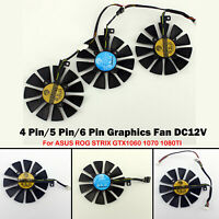 4 /5 /6 Pin Graphics Fan GPU VGA Cooler For ASUS ROG STRIX GTX1060 1070 1080TI