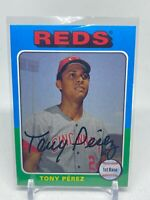 2019 Topps Archives Tony Perez #195 Cincinnati Reds