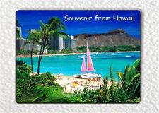 SOUVENIR FROM HAWAII FRIDGE MAGNET -bfw3Z