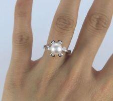 Diamond Cocktail Fine Pearl Rings