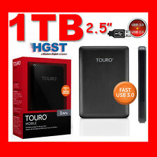 "HARD DISK ESTERNO 2,5"" 1TB 2.5"" HITACHI HGST MOBILE TOURO Portatile USB3.0"