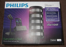 Philips StarMaker Portable Wireless Bluetooth Speaker Karaoke Microphone
