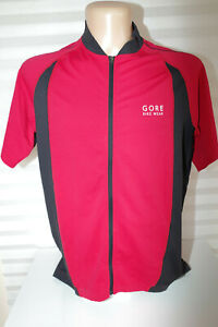 Gore Bike Wear Cycle Road Touring MTB Jersey Size XXL Hi Viz reflective Elements