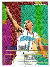Muggsy Bogues 1995-96 Fleer Charlotte Hornets Insert Basketball Card
