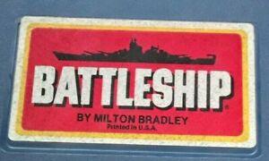 Vintage 1978 Milton Bradley BattleShips Replacement Battle Ship Pieces - Choose