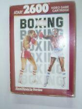 1988 VINTAGE ATARI 2600 BOXING REAL SPORTS GAME MIB
