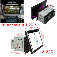 "9"" Android 9.1 2Din Car Stereo Radio GPS 2+32G Mirror Link Player Wifi GPS Navi"