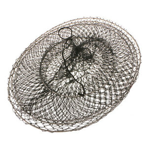 Folding Fishing Gear  Fish Crawdad Shrimp Crayfish Trap Keep Net Cage