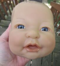 Berenguer doll head for doll making or reborn dolls-open mouth-lavender eyes
