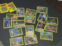 1989 TOPPS TEENAGE MUTANT NINJA TURTLES TV Trading Cards