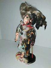 Scary Demonic Possessed Bloody/ Burnt Girl Doll Figure Collectible - Eco Charity