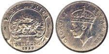 1 Shilling 1950 Georgius VI Africa dell'Est East Africa #2833