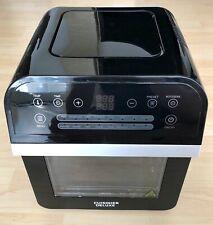 Cuisinier Deluxe 12 Liter Heissluft-Friteuse 1600W Fritöse/Ofen Guter Zustand