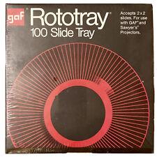 Vintage Gaf Sawyer Rototray 100 Slide Tray Brand New Factory Sealed 2 By 2 2x2