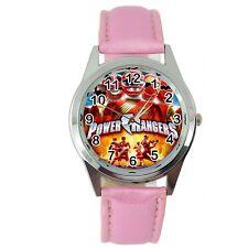 Power Rangers Powerrangers héroe Rosa Cuero peli película Serie De Tv Reloj De Acero