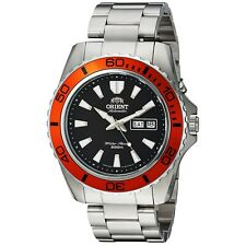 ORIENT FEM75004B9 Mako XL Automatic Black Dial Dive Stainless Steel Men's Watch