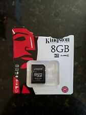 Kingston 8GB Memory Card Micro SD Class4 NEW open package unused