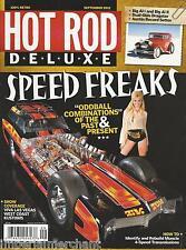 Hot Rod Deluxe magazine Speed freaks Transmission Muncie rebuild Show coverage