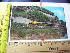 Railroad Train Engine Butler Bluff Noel MO Ozarks Missouri Elk River Prize dr