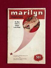 "1954, Marilyn Monroe, (4-Photo) Calendar w/ Original Envelope"" (Scarce)"