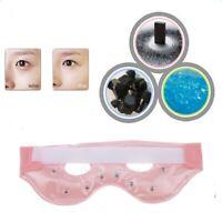 Soft Tourmaline Gel Hot Cold Eye Mask Puffiness Fatigue Dark Circle Relief